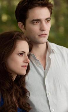 "Kristin Stewart and Robert Pattinson in ""The Twilight Saga: Breaking Dawn — Part 2."""